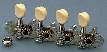 Gotoh Style A Mandolin Tuning Keys Nickel by Gotoh
