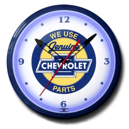 Chevrolet Genuine Parts Chevy Bowtie Emblem Neon Wall