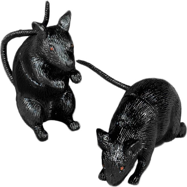 Plastic Squeak Rat (Each) - Party Supplies