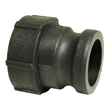 49010430 2 in. Part A Polypropylene Cam & Groove Coupling