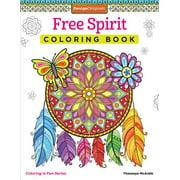 Free Spirit Adult Coloring Book