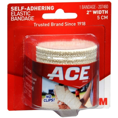 ACE Self-Adhering Bandage 2 Inches 1 Each (Pack of 2)