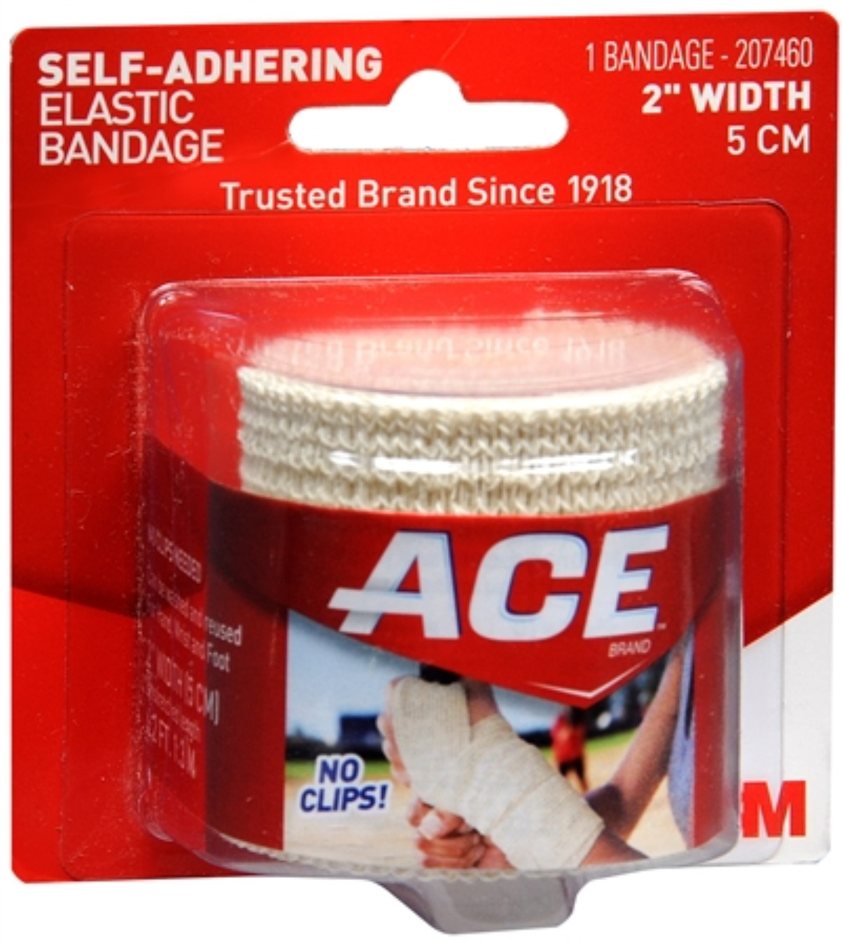 ACE Self-Adhering Bandage 2 Inches 1 Each