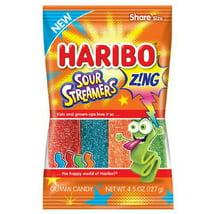 Gummy Candies: Haribo Sour Streamers