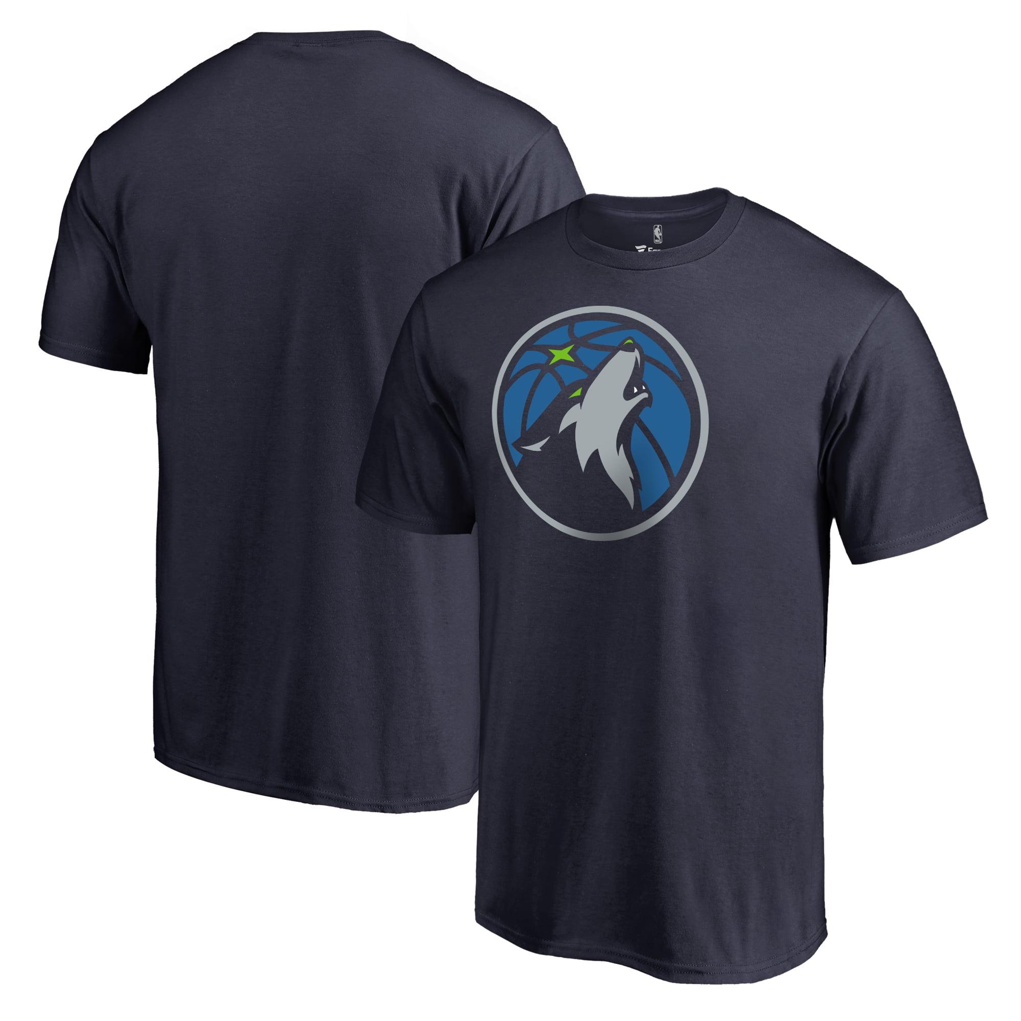 Minnesota Timberwolves Fanatics Branded Primary Logo Big & Tall T-Shirt - Navy