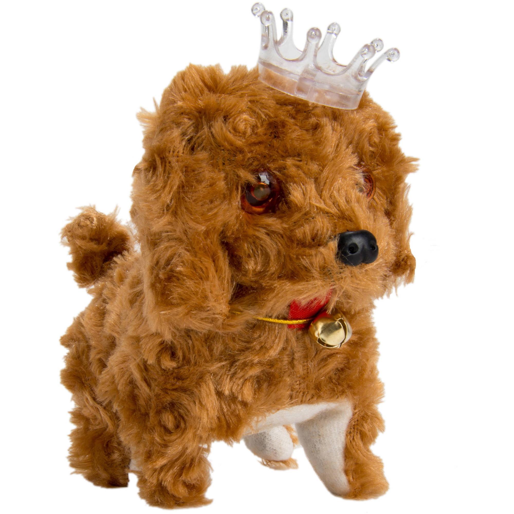 BLUE BLOCK BLUEBLOCK Classic Design Electronic Walking and Barking Puppy Plush Toy