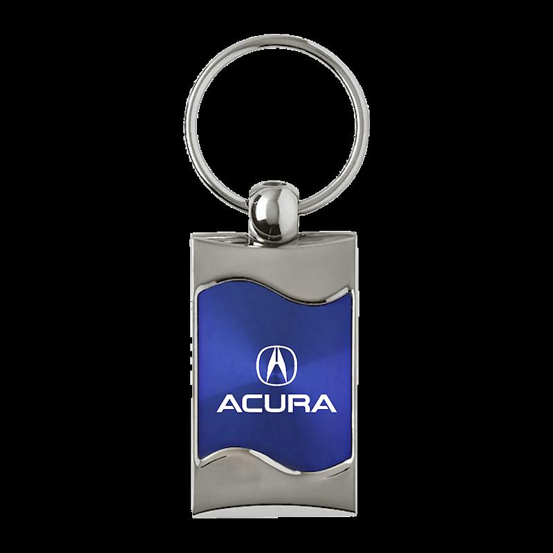 Au-TOMOTIVE GOLD Acura Rectangular Wave Purple Key Fob