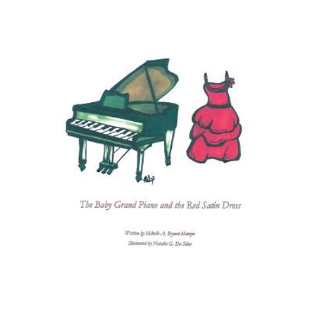 The Baby Grand Piano and the Red Satin - Piano Dress