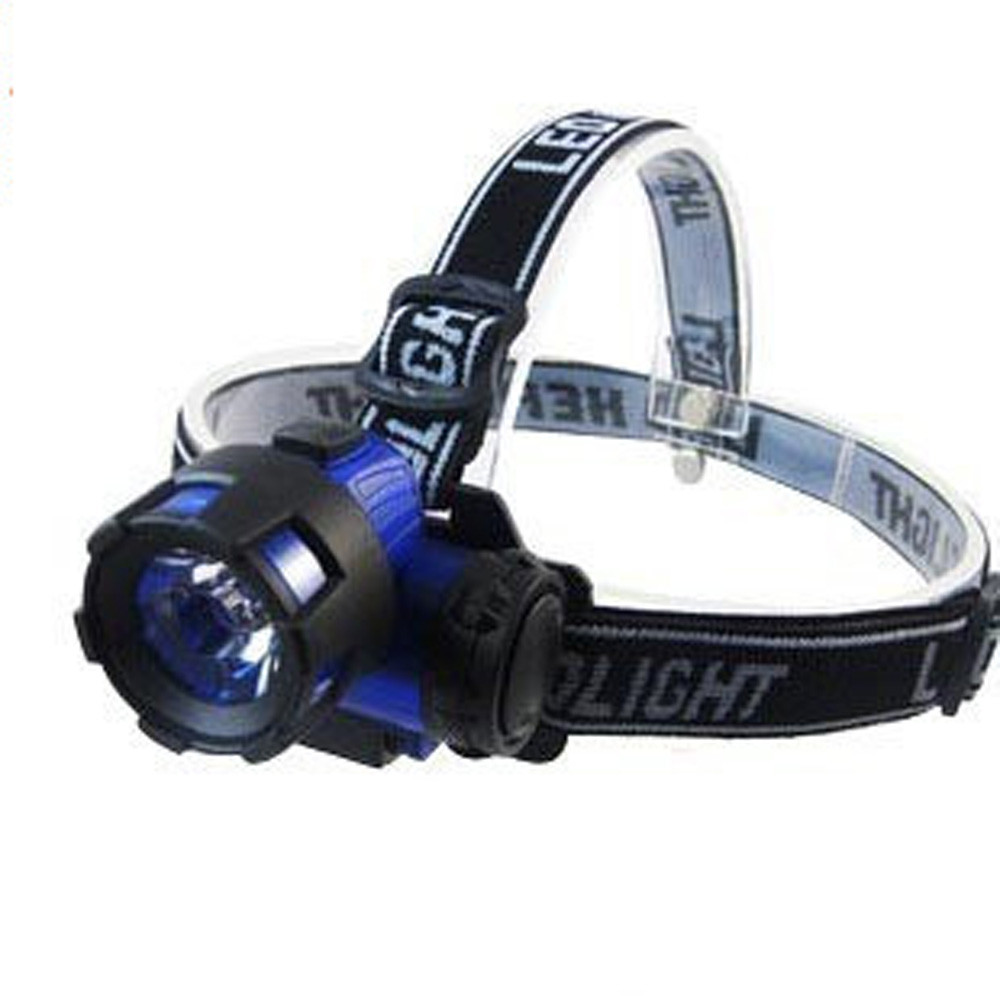 York'Street Super Brightness Zoomable LED Headlight Headlamp for Outdoor Sports