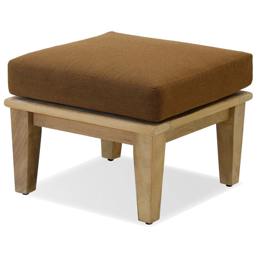 Forever Patio Miramar Ottoman with Cushion