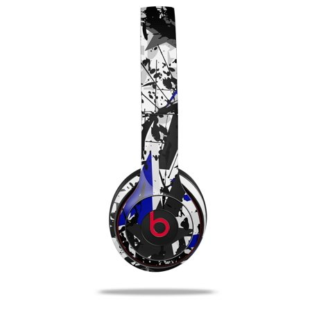 WraptorSkinz Skin Decal Wrap for Beats Solo 2 and Solo 3 Wireless  headphones Baja 0018 Blue Royal (BEATS NOT INCLUDED)