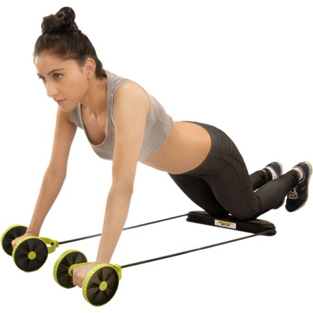 RevoFlex Extreme Abdominal Wheel All in One Core Muscle Roller - Sculpt your Body - Dual Tension Ab Muscle Toner