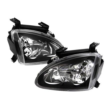 - VIPMOTOZ Headlight Assembly For 1993-1997 Honda Del Sol