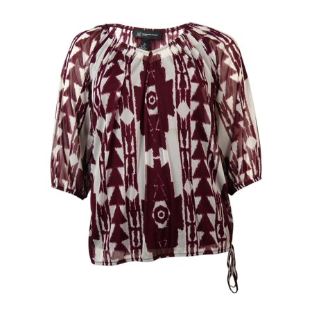 INC International Concepts Women's 2PC Tribal Mesh Top (PS, Totem Pole - Totem Poles For Sale