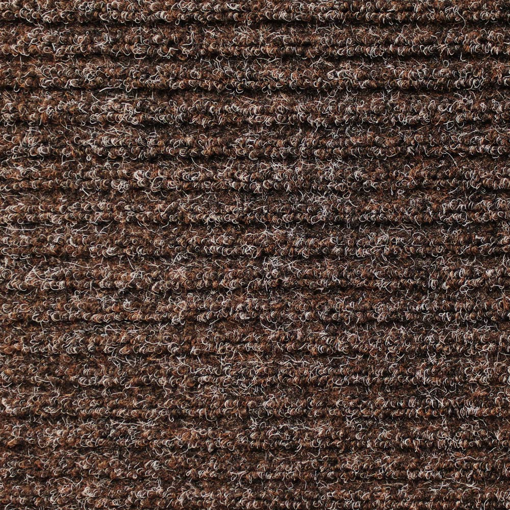 Delicieux Heavy Duty Ribbed Indoor/Outdoor Carpet With Rubber Marine Backing   Tuscan  Brown 6
