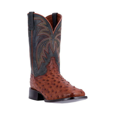 For Sale Cheap Online Buy Cheap Largest Supplier Dan Post Boots Calhoun Cowboy Boot DP4533(Men's) -Cognac/Black Leather Cheap 2018 Newest sNQzT5