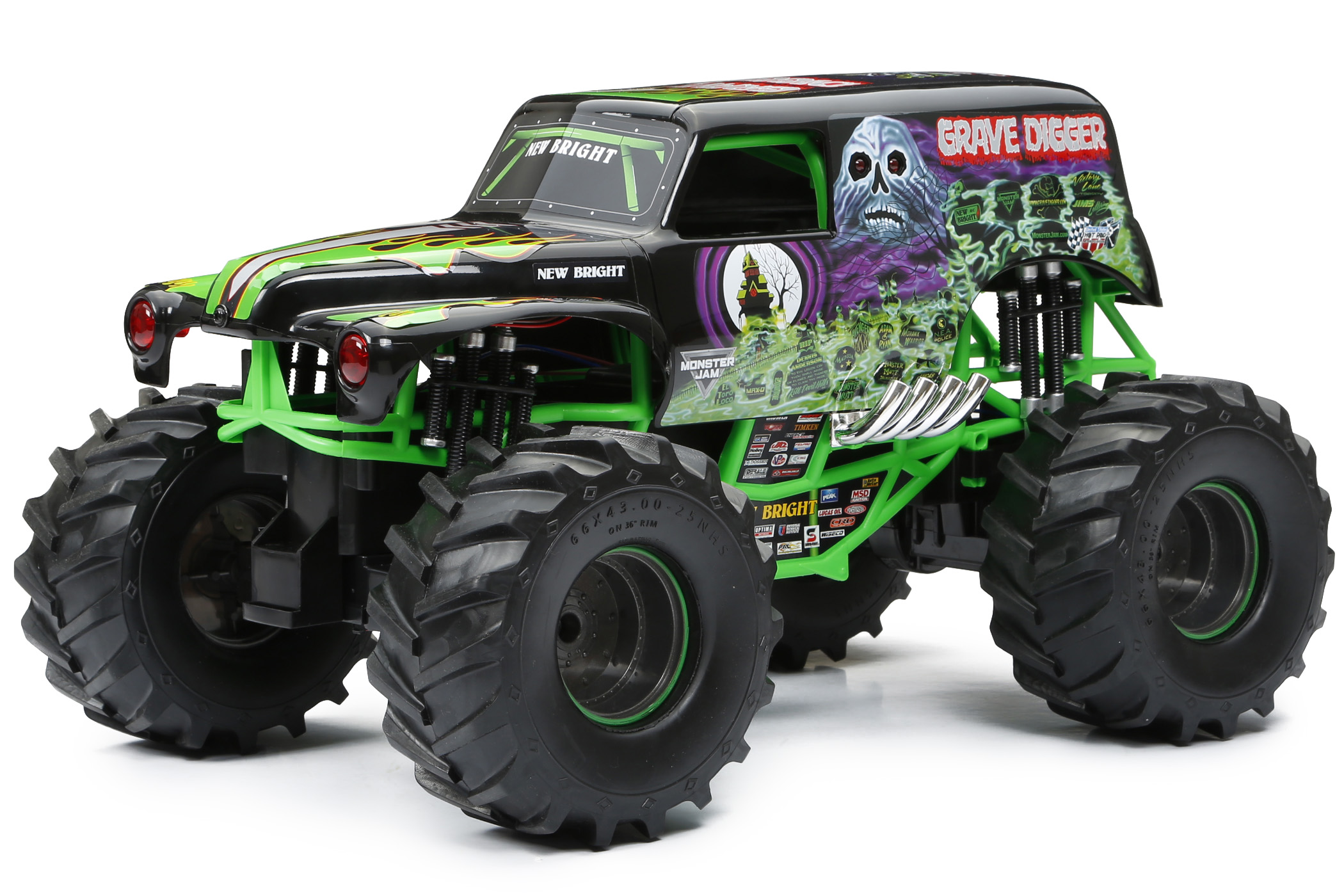 New Bright Monster Jam Radio Control � GRAVE DIGGER by New Bright