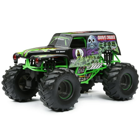 Grave Digger The Reaper (New Bright Monster Jam® Radio Control – GRAVE)