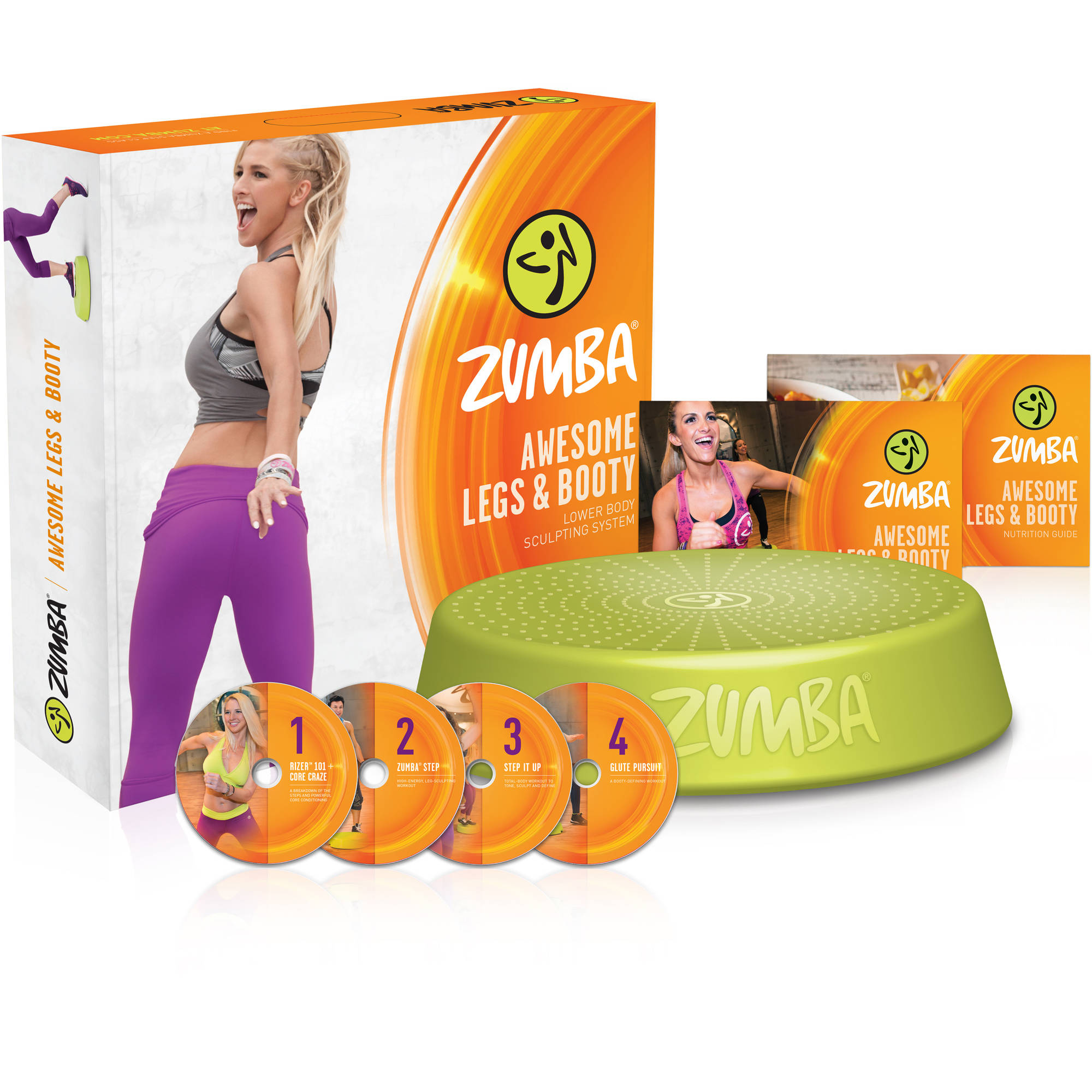 Zumba Awesome Legs and Booty DVD System by
