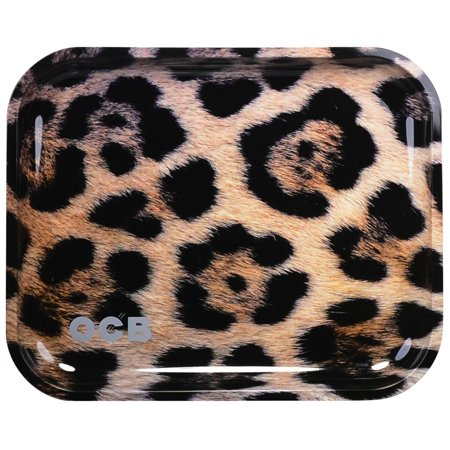 Ocb Rolling Papers - OCB Metal Rolling Tray - Jaguar / Large (14