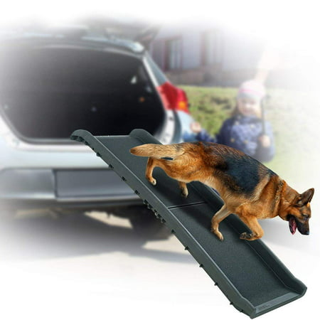 Pet Ramp for Car SUV Truck Boat - Folding Portable Dog Ramp for Small