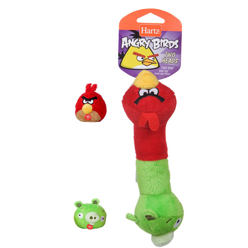 Angry Birds 2-Heads Dog Toy