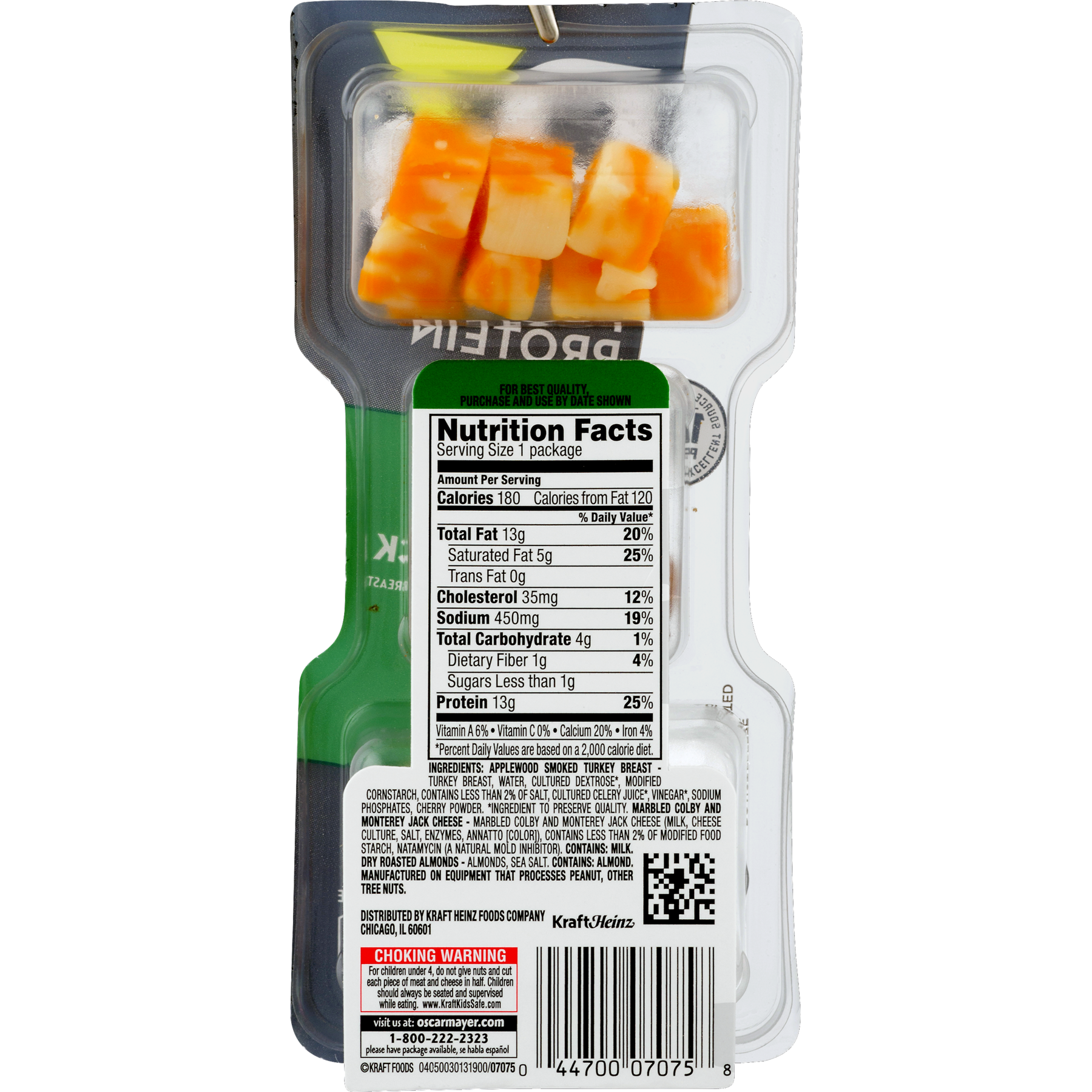 P3 Snack Pack Nutrition Facts - Nutrition Ftempo