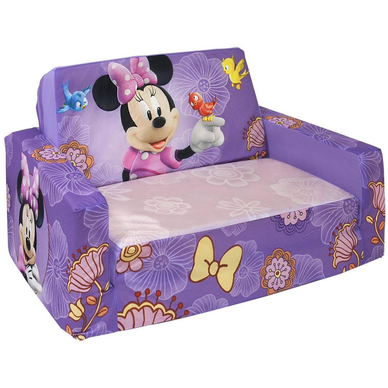 Marshmallow Flip Open Sofa With Slumber, Disneyu0027s Minnie Mouse   Walmart.com