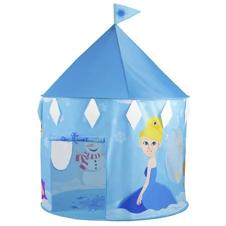 Princess Neve S Ice Castle Pop Up Play Tent Walmart Com