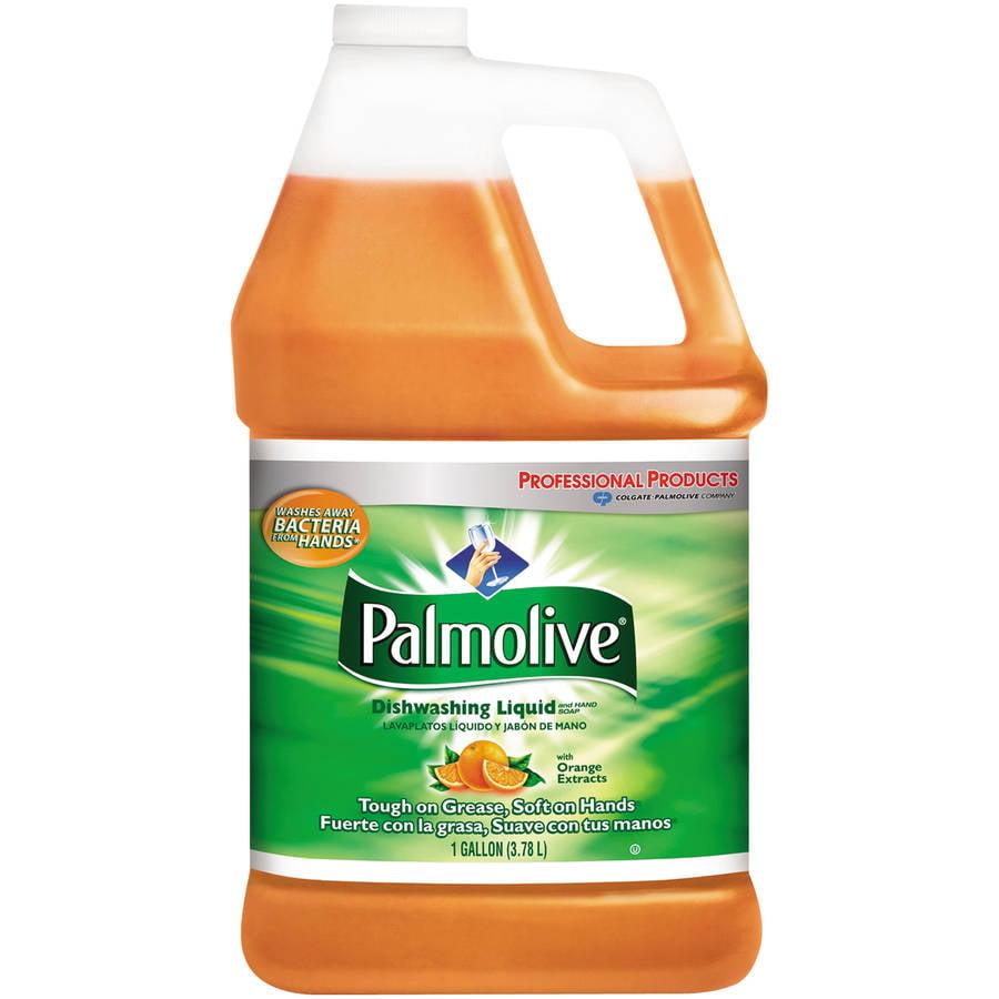 Palmolive Dishwashing Liquid with Orange Extracts, 1 gal