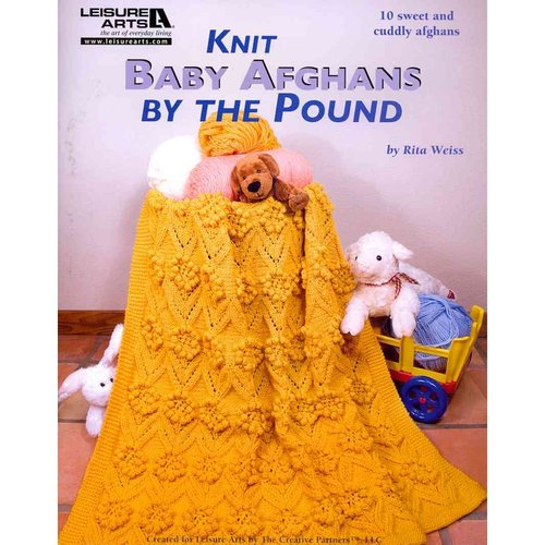 Knit Baby Afghans by the Pound