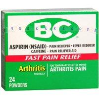 3 Pack - BC Arthritis Formula Pain Reliever Powders 24 Each
