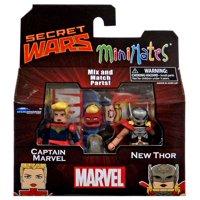 Minimates Series 64 Captain Marvel & New Thor Minifigure 2-Pack