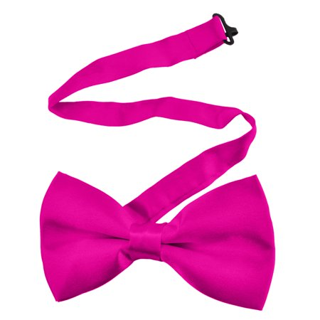 TopTie Mens Boys Adjustable Formal Solid Bow Tie Wholesale, Christmas Gift Idea, 1/10/50/100 PCS-ROSERED-1pcs (Formal Cosplay Ideas)