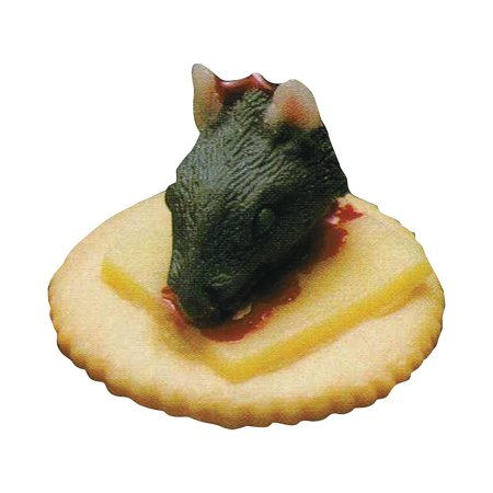 Fun Express - Rat Finger Food for Halloween - Home Decor - Decorative Accessories - Home Accents - Halloween - 1 Piece - Cold Finger Foods For Halloween