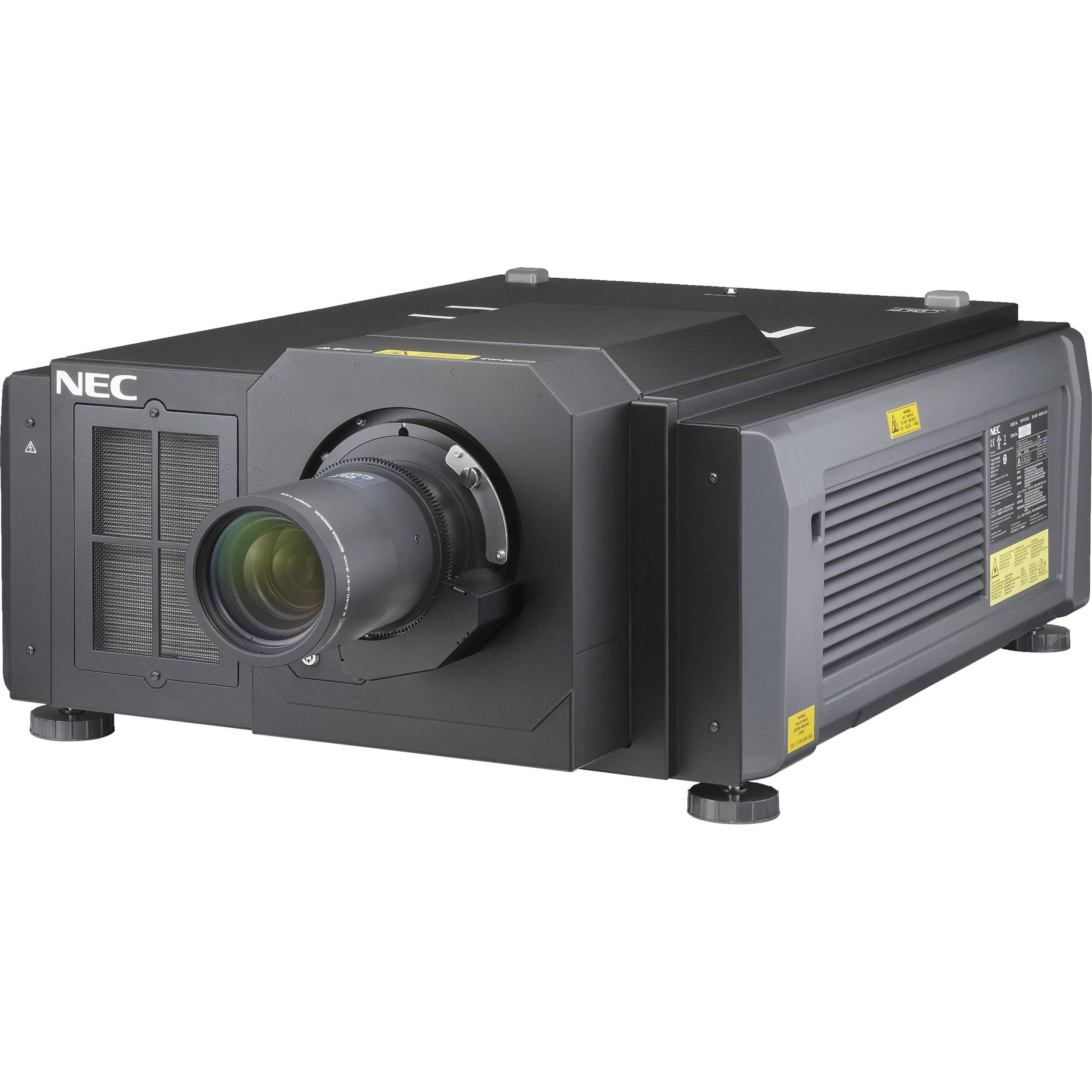 NEC NP-PH1201QL 12,000-Lumen 4K Laser Phosphor Installati...