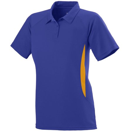 Augusta Ladies Mission Sport Shirt Pur/Gol Xl - image 1 of 1