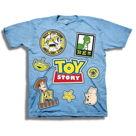 Disney Pixar Toy Story Shirt - Buzz Lightyear and Sheriff Woody Tee - Toy Story T-Shirt for $<!---->