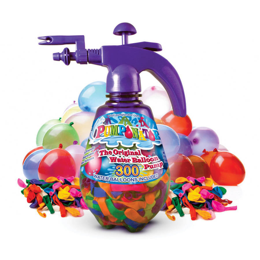 Pumponator Clear PUMP0212PU Balloon Pump, Purple