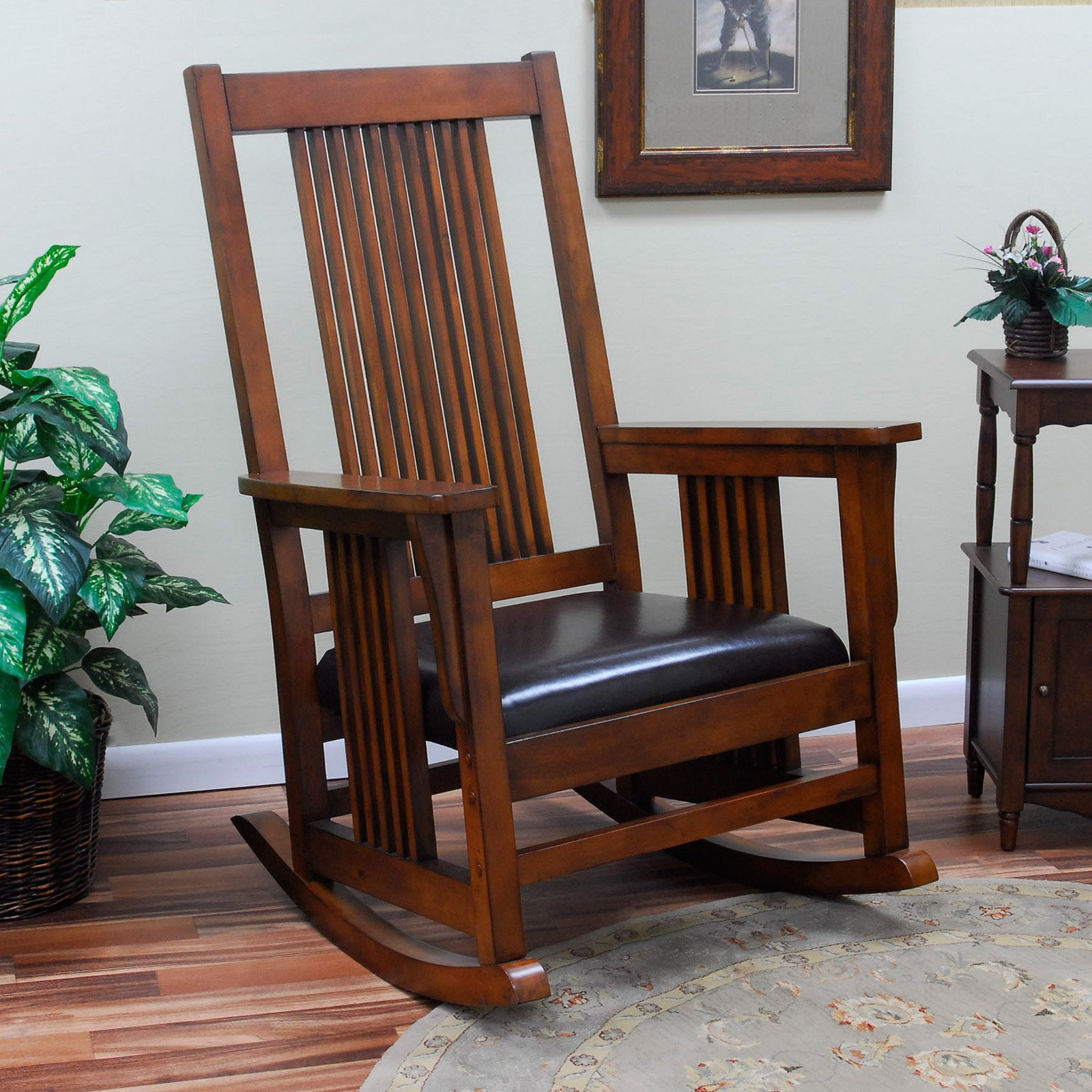 Carolina Chair and Table Mission Rocking Chair