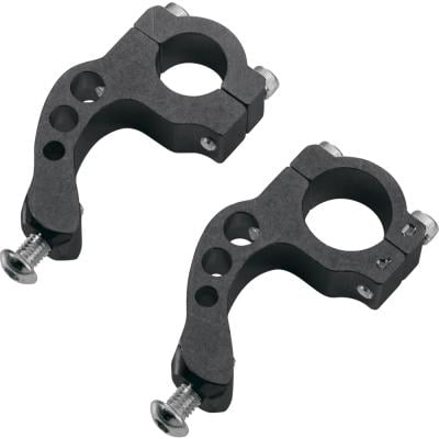 "Moose Racing Replacement Handguard Contour Inner Mount Clamp For 1-1/8"" Renthal Twinwall Bars Black"