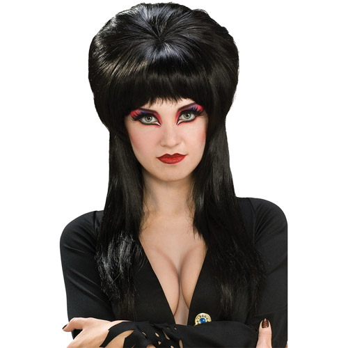 Elvira Wig Adult Halloween Accessory