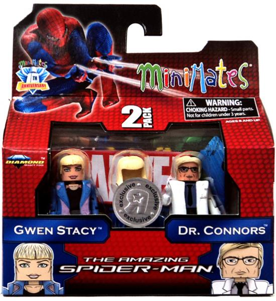 Spider-Man Minimates Exclusives Gwen Stacy & Dr. Connors Minifigure 2-Pack