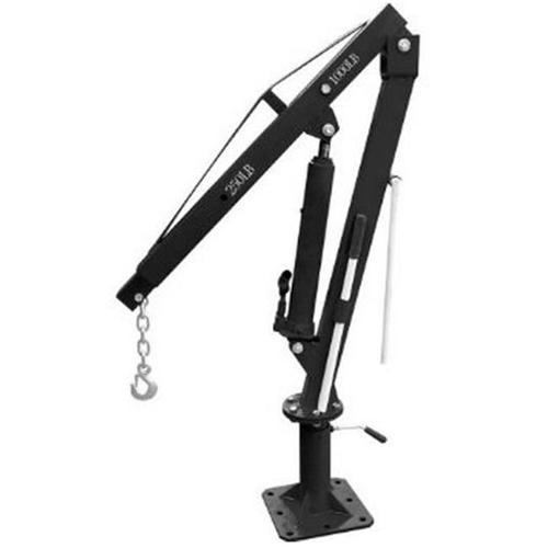 Black Bull 1000 lb Capacity Pick-Up Truck Crane