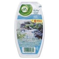 Air Wick Room Air Freshener Activ' Gel, Fresh Waters, 4.0 oz.