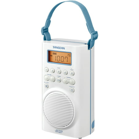 Sangean H205 AM/FM/Weather Alert Waterproof Shower (Finding The Best Waterproof Shower Radio)