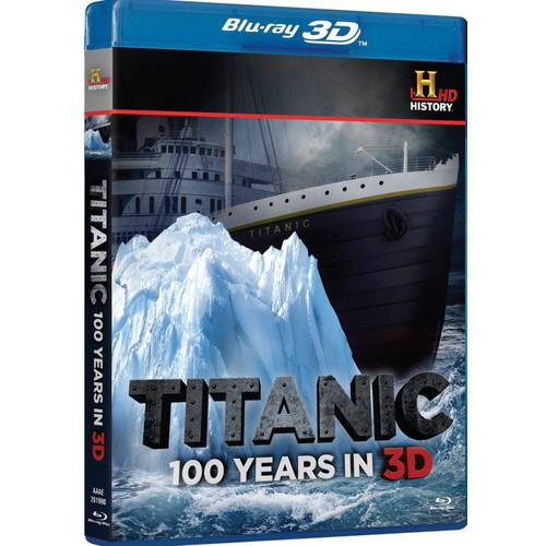 Titanic: 100 Years (3D + Blu-ray)