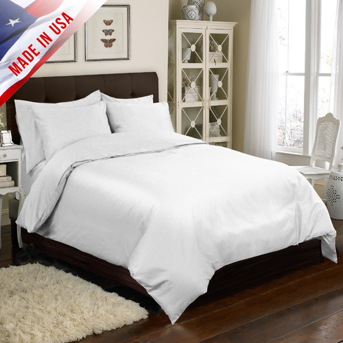 Veratex, Inc. 4 Piece Duvet Cover Set