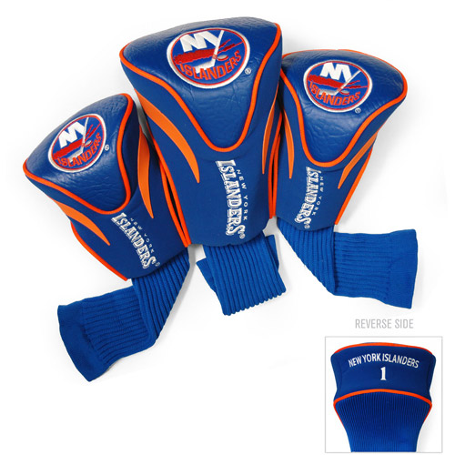 Team Golf NHL New York Islanders 3 Pack Contour Head Covers