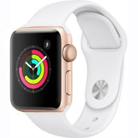 Refurbished Refurbished Apple Watch Series 2 38mm Gold Case - White Sport Band